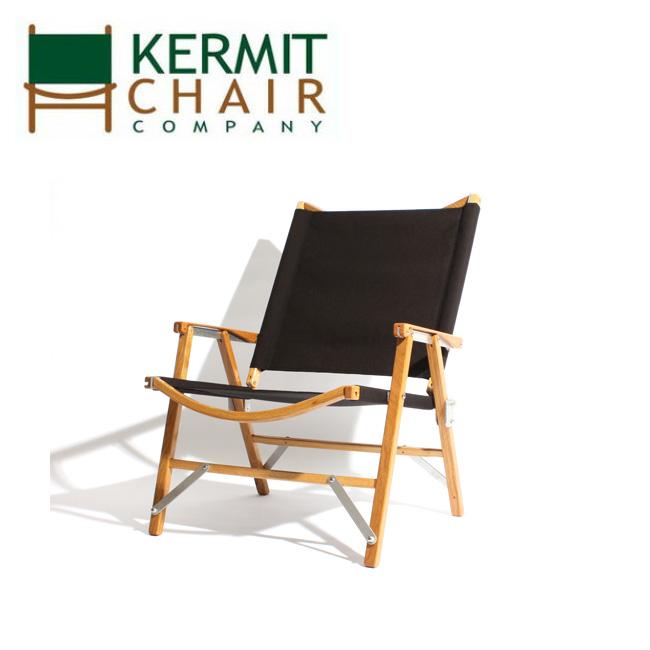 kermit chair カーミットチェアー Hi-Back BLACK KCC-502 【日本正規品/天然木/椅子/アウトドア/インドア】