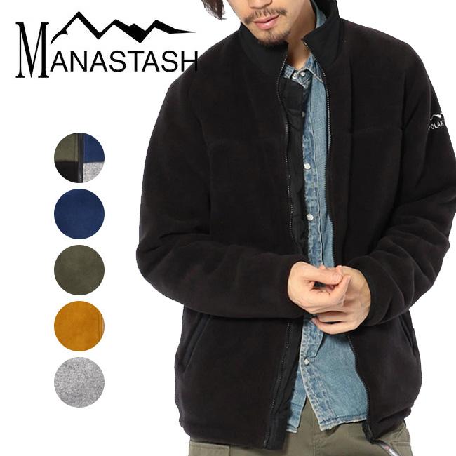 MANASTASH マナスタッシュ POLARTEC TRAINER JACKET ポーラーテックトレーナージャケット 7182027 【アウトドア/アウター/フリース】