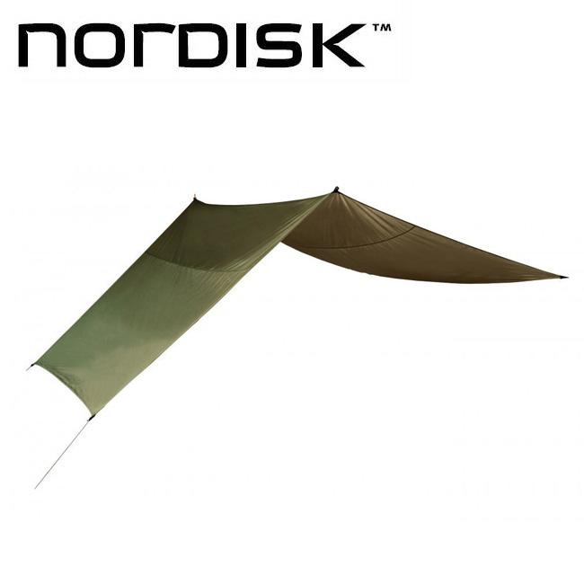 NORDISK ノルディスク VOSS 9 PU ヴォス 9 PU ダスティーグリーン 127006 【アウトドア/テント/タ―プ/日よけ】