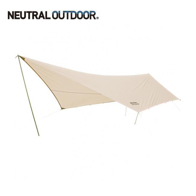 NEUTRAL OUTDOOR ニュートラルアウトドア NT-TA02 GEタープ 6.0 35352 【アウトドア/タ―プ/キャンプ】