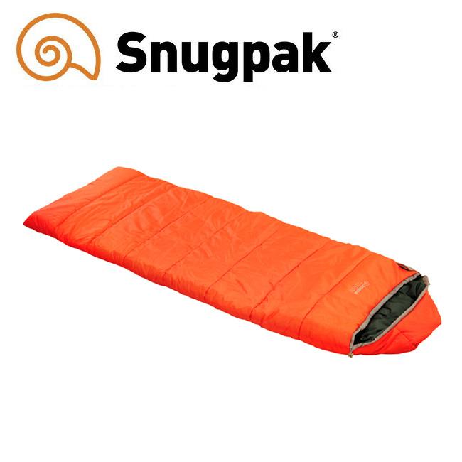 Snugpack スナグパック スリーパーエクスペディションスクエアライトハンド オレンジ 【寝袋/アウトドア】