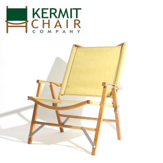 【日本正規品】kermit chair カーミットチェアー Kermit Chair Hi-Back BEIGE KCC-506 【アウトドア/キャンプ/椅子/天然木】
