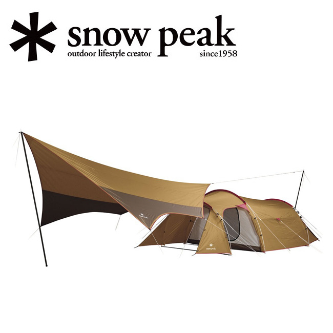 snowpeak スノーピーク エントリーパックTT SET-250H 【テント/タープ/シェルター/アウトドア/キャンプ】