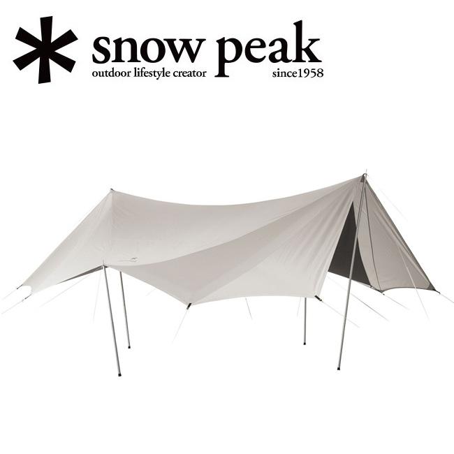 snowpeak スノーピーク TAKIBIタープ オクタ TP-430 【焚火対応タープ/アウトドア/キャンプ/BBQ/バーベキュー】