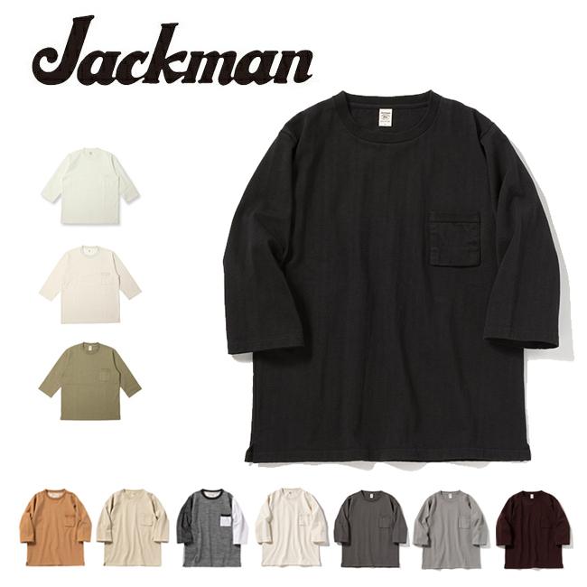 Jackman ジャックマン Dotsume HS T-Shirt 度詰めハーフスリーブTシャツ JM5807 【Tシャツ/アウトドア/メンズ/トップス】