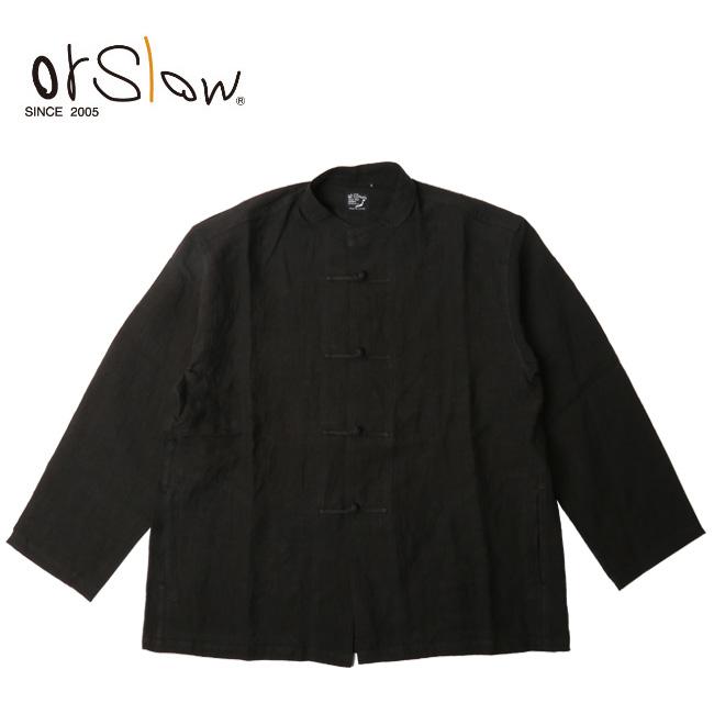 Orslow オアスロウ KUNG FU JACKET(UNISEX) black 03-6013-61 【アウトドア/ユニセックス/ジャケット】