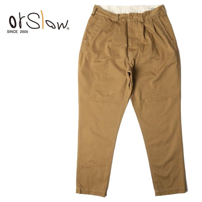 Orslow オアスロウ Men's BILLY JEAN KHAKI 01-5560-40 【アウトドア/メンズ/パンツ】