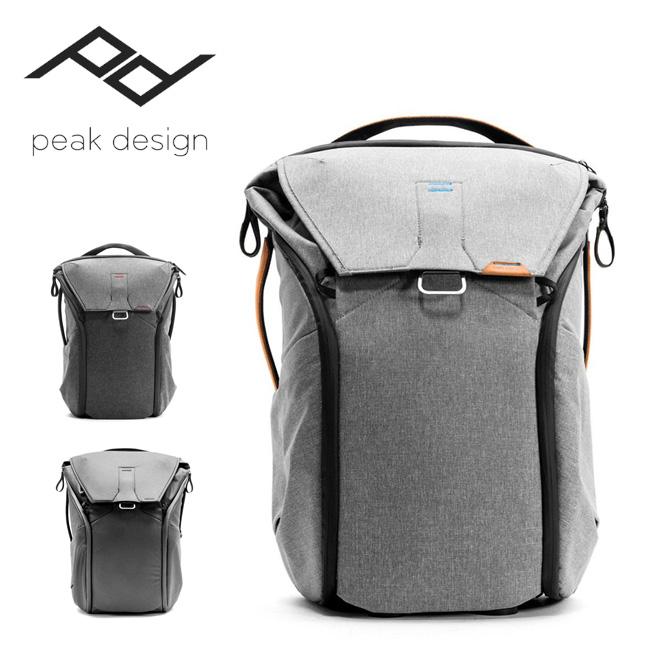 Peak Design ピークデザイン エブリデイバックパック 30L veryday Backpack 30L BB-30-BL-1/BB-30-AS-1/BB-30-BK-1 【バックパック/バッグ/バック/アウトドア/カメラ機材収納】