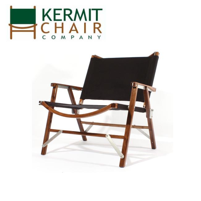 kermit chair カーミットチェアー Kermit Wide Chair WALNUT -BLACK- KCC-402 【アウトドア/キャンプ/日本正規品/天然木/ウォールナット】