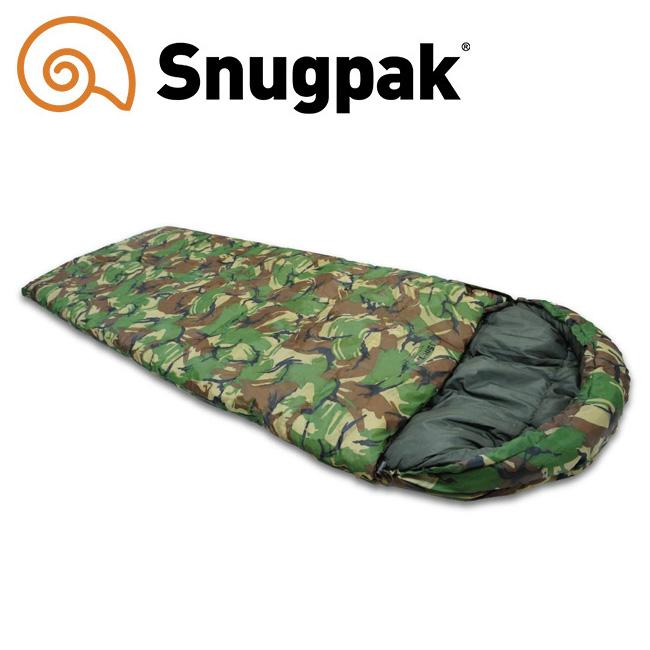【エントリーで更にP10倍!2020年1月1日0時~】Snugpack スナグパック ノーチラス スクエア ライトハンド DPMカモ 【寝袋/キャンプ/アウトドア】