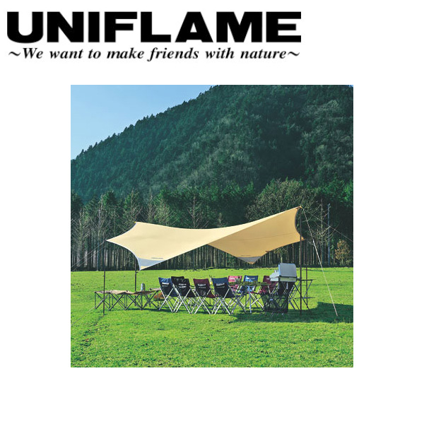 ユニフレーム UNIFLAME タープ/REVOタープ600/681442 【UNI-TENT】