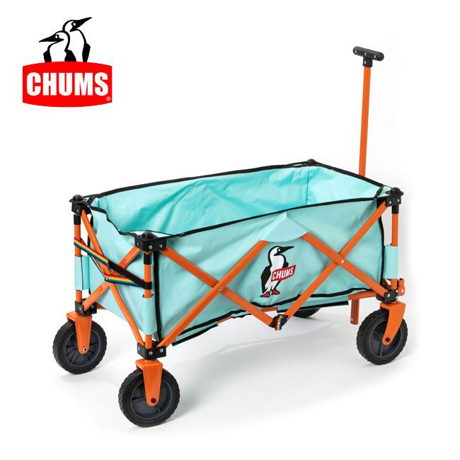 【スマホエントリでP10倍確定!12日 10時~】CHUMS チャムス CHUMS Happy Camping Folding Wagon チャムスハッピーキャンピングフォールディングワゴン CH62-1327 【アウトドア/日本正規品/キャンピングワゴン/キャンプ】