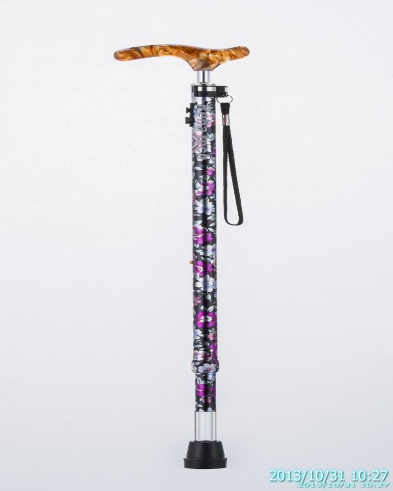 【送料無料】光る杖 ライトケイン LC-02【軽量 おしゃれ 7段階伸縮杖 プレゼント 夜道も安心】
