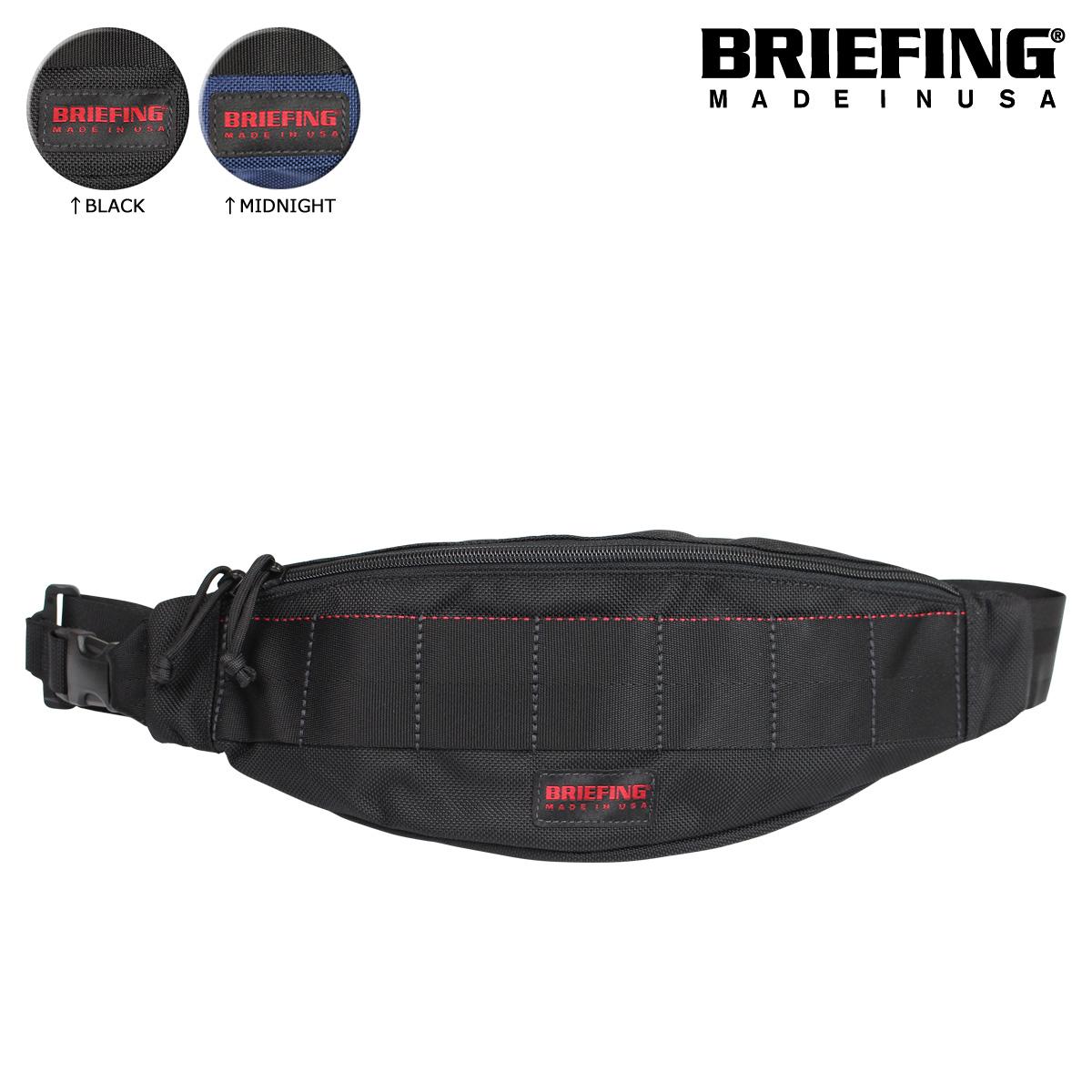[SOLD OUT] briefing BRIEFING body bag bum-bag BRF071219 men
