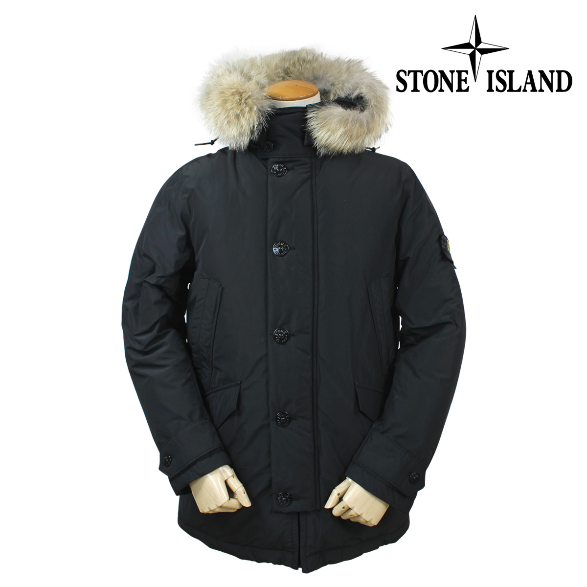 Mens down jacket with hood - Stone Island Stone Island Men S Down Jacket Down Coat Call Grey Micro Reps Down 12