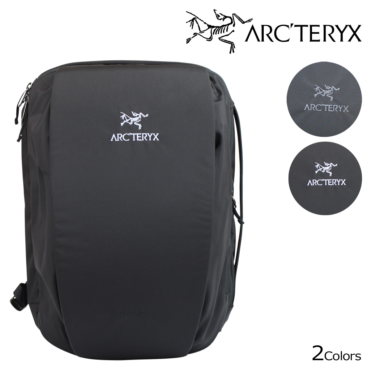 アークテリクス ARC'TERYX リュック バックパック バッグ 16179 20L BLADE 20 メンズ グレー ブラック [9/4 再入荷]
