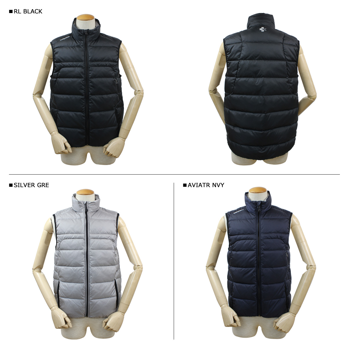 RLX RALPH LAUREN earlier x-ray vest 3 colors men's FIELED VEST