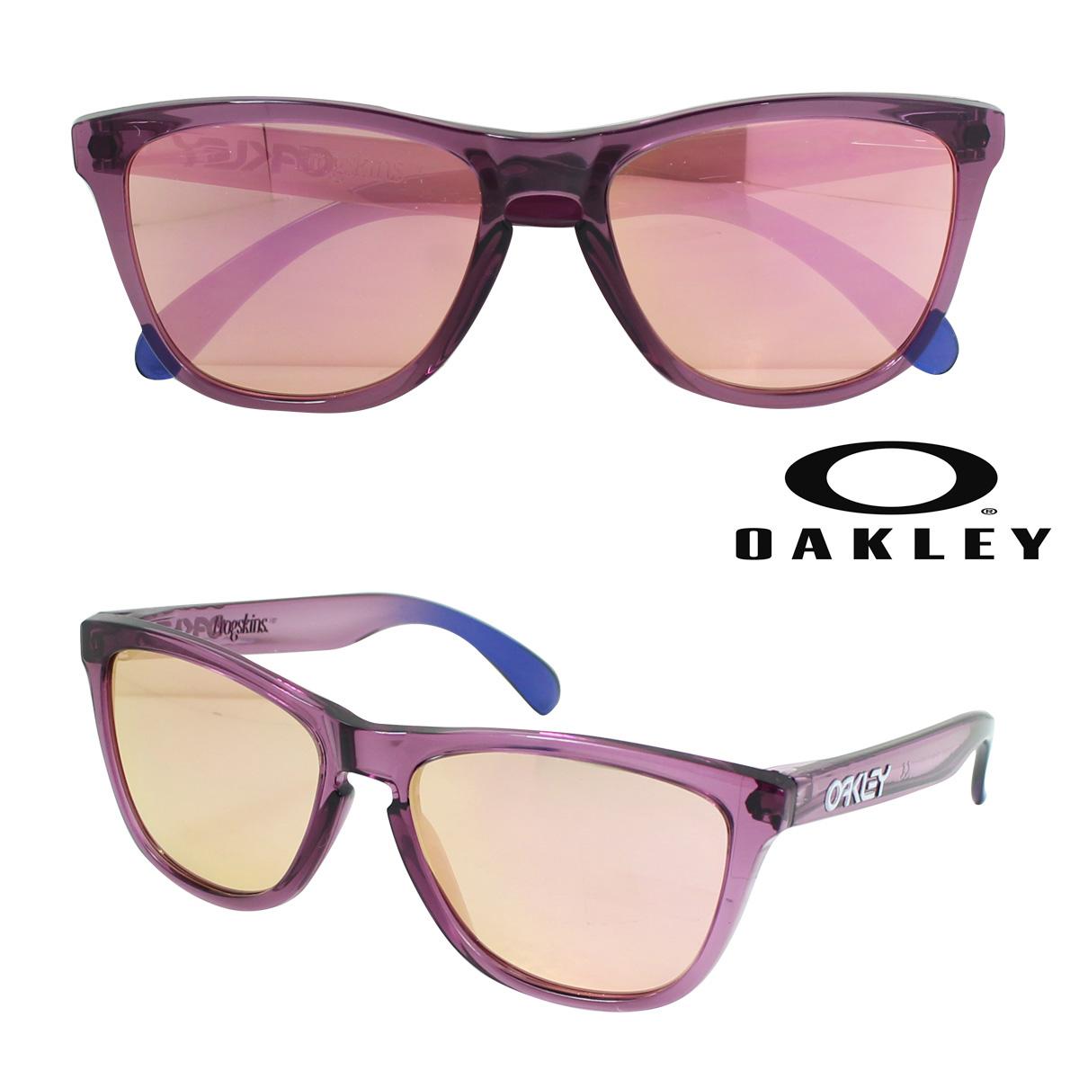 オークリー サングラス Oakley Frogskins フロッグスキン OO9013-73 アルパイングロー メンズ レディース