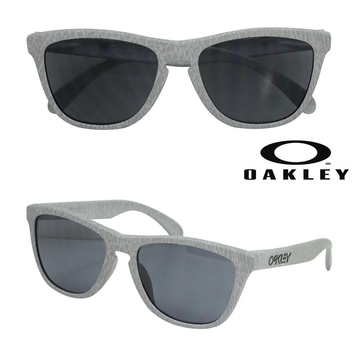 【最大2000円OFFクーポン】 オークリー Oakley サングラス アジアンフィット Frogskins フロッグスキン Asian Fit OO9245-30 スモーク グレー メンズ レディース