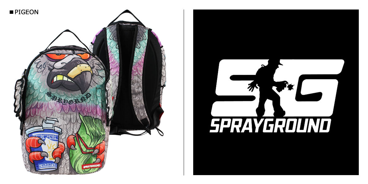 SPRAY GROUND spray background backpack backpacking B630 men women