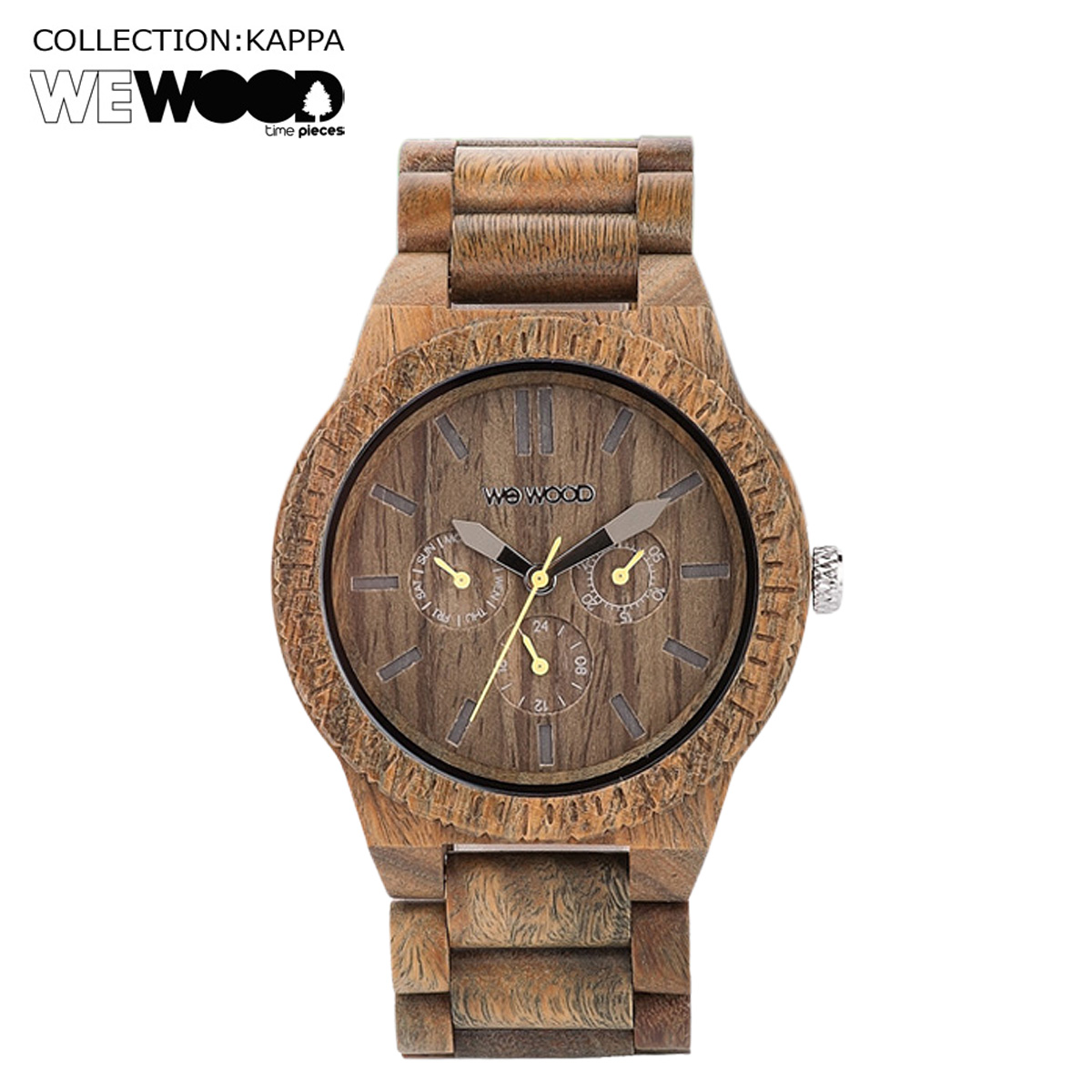 WEWOOD 腕時計 レディース ウィーウッド KAPPA アーミー ARMY NATURAL WOOD メンズ