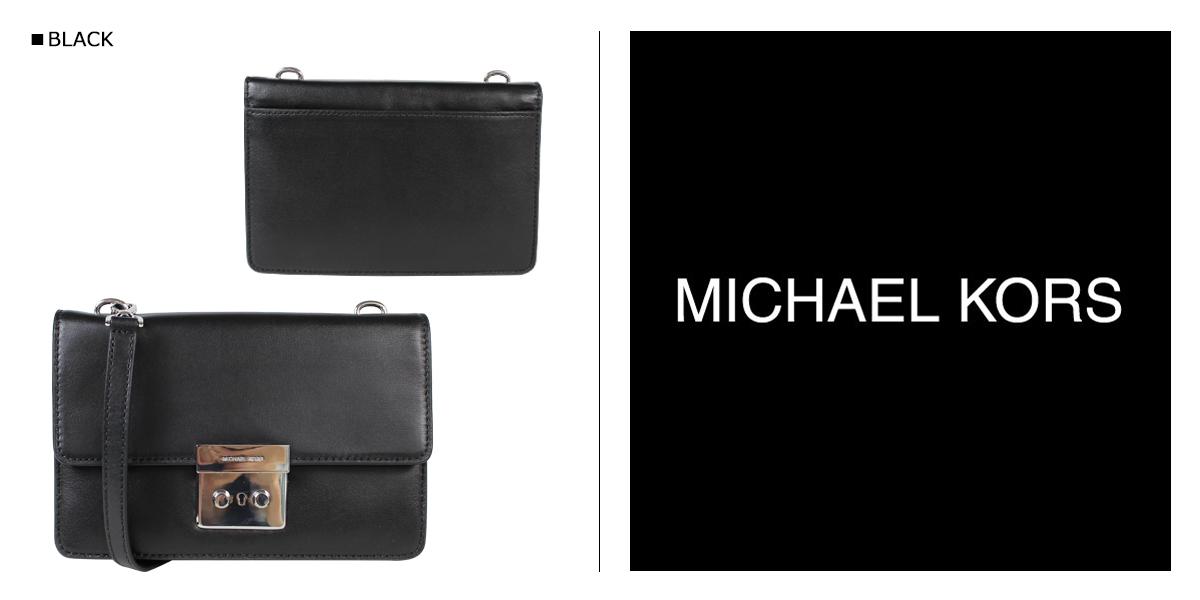 迈克 • 柯尔迈克 • 柯尔袋挎包 32S6SSLC4L 黑色女士