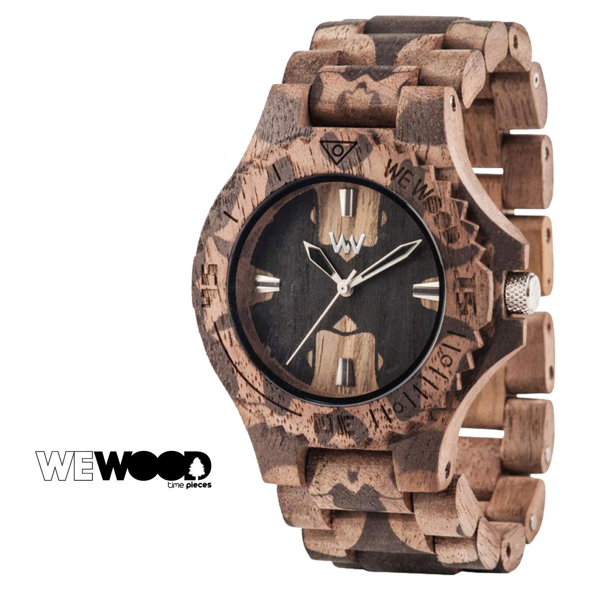 WEWOOD 腕時計 レディース ウィーウッド DATE NATURE MIRROR NUT メンズ