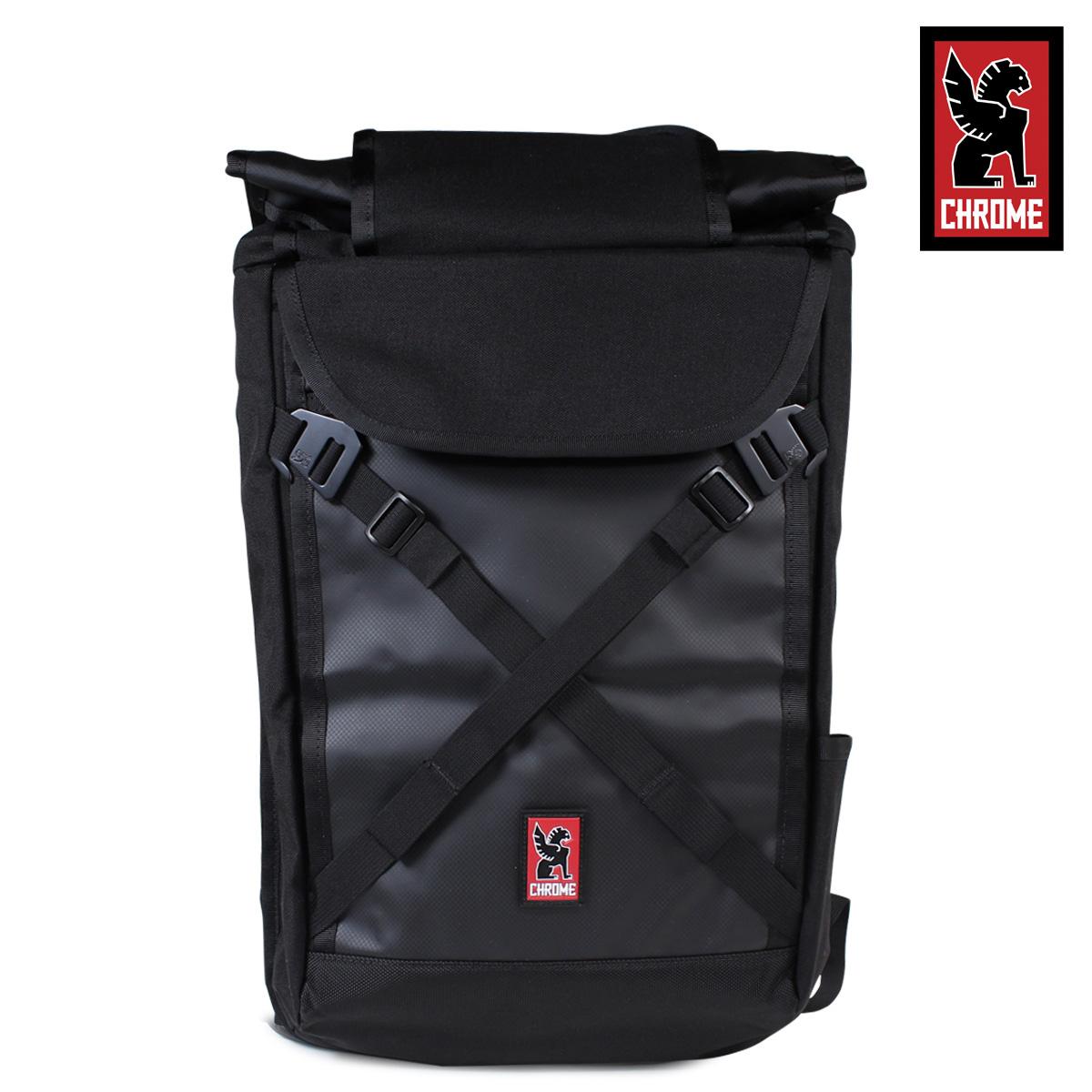 【最大2000円OFFクーポン】 クローム CHROME リュック バッグ バックパック BG-190 BRAVO 2.0 ブラック ブラック メンズ レディース
