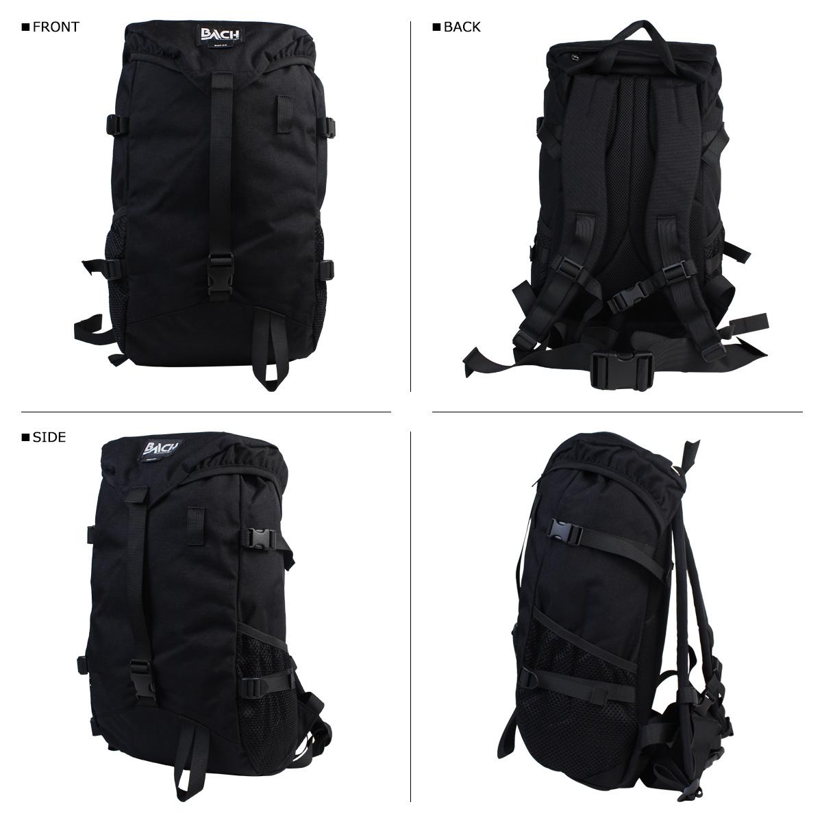 Bach backpack 22L BACH rucksack ROC 22 コーデュラ 122001 lady's men's black [3/16 Shinnyu load]