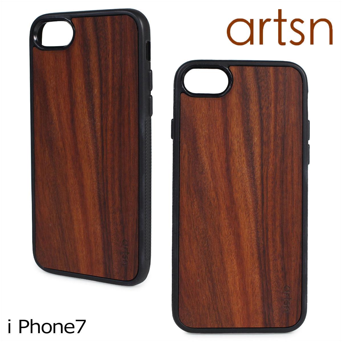 ARTSN アーツン iPhone 7 ケース スマホ 携帯 アイフォン 木目 ウッド メンズ レディース