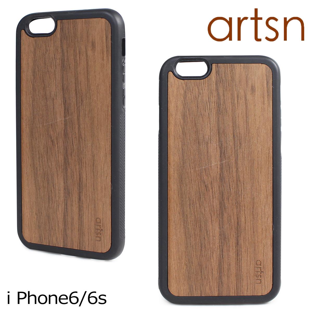 ARTSN アーツン iPhone 6 6s ケース スマホ 携帯 アイフォン 木目 ウッド メンズ レディース