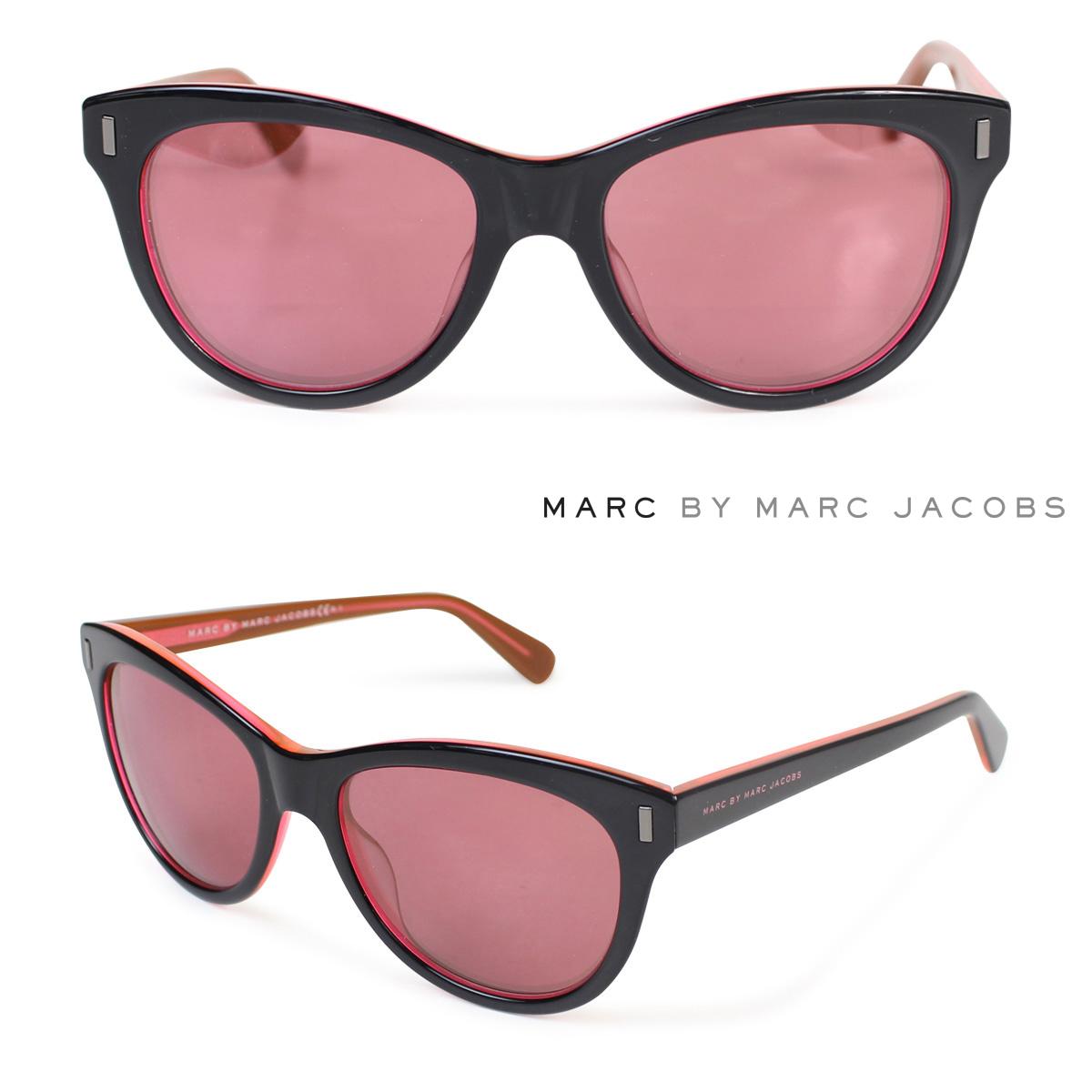 マークバイマークジェイコブス MARC BY MARC JACOBS サングラス レディース UVカット MMJ434/S ブラックオレンジ