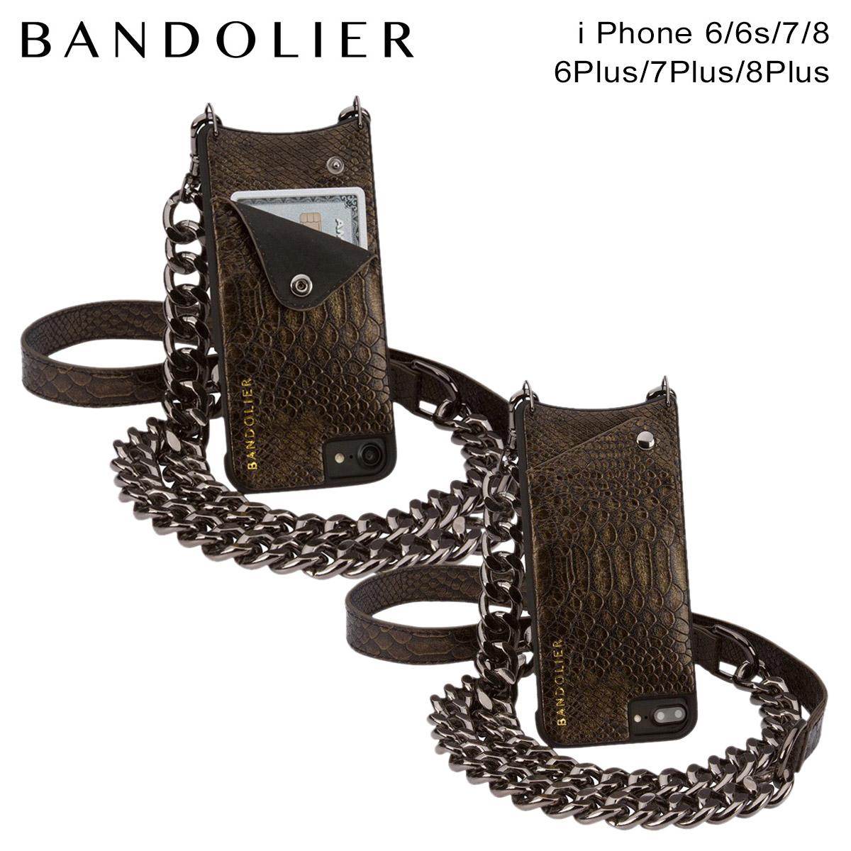 BANDOLIER バンドリヤー iPhone8 iPhone7 7Plus 6s ケース スマホ アイフォン プラス JUN レザー メンズ レディース