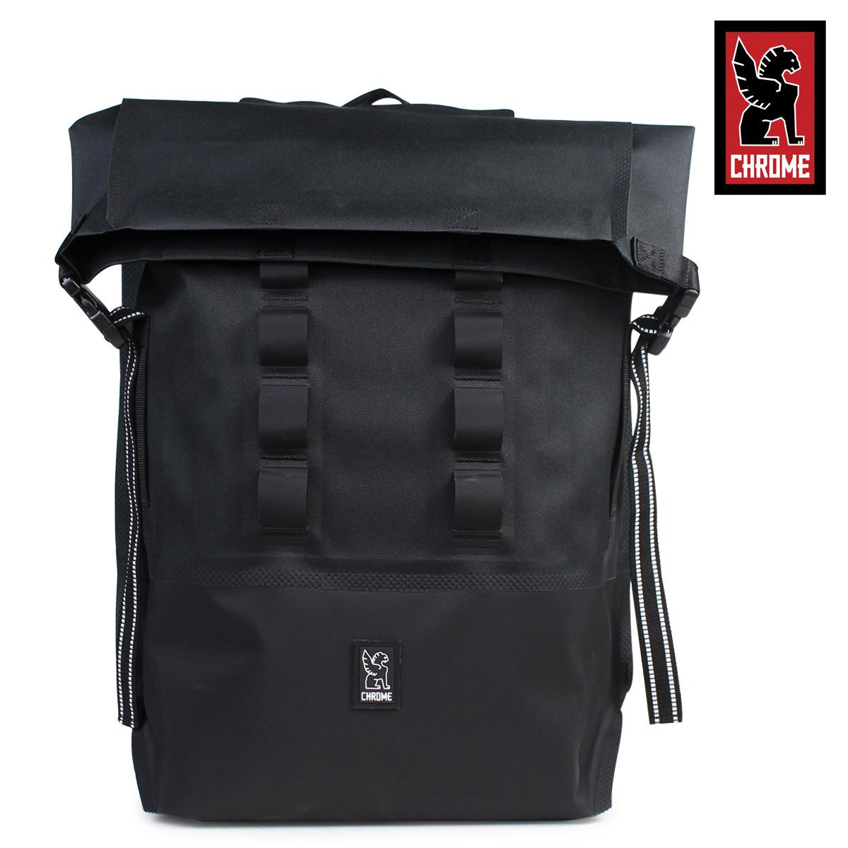 クローム リュック バッグ CHROME バックパック 28L メンズ レディース URBAN EX ROLLTOP BG-218 ブラック