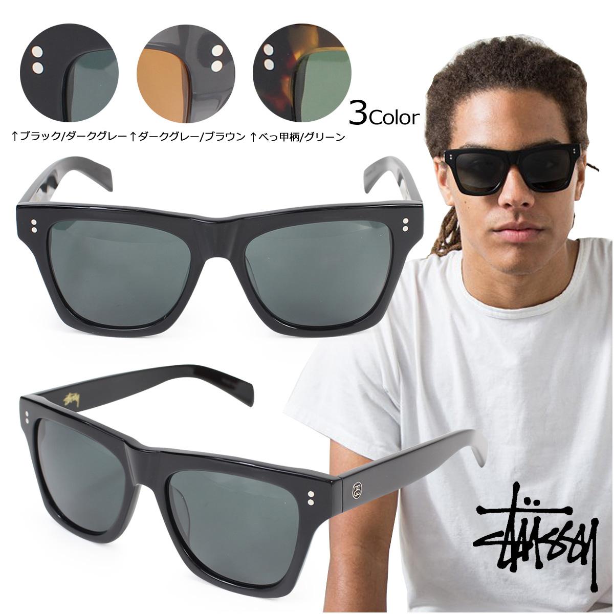 a62177380d ステューシー STUSSY sunglasses men gap Dis UV cut Norton NORTON SUNGLASS eyewear  EYEWEAR 3 color  7 12 Shinnyu load