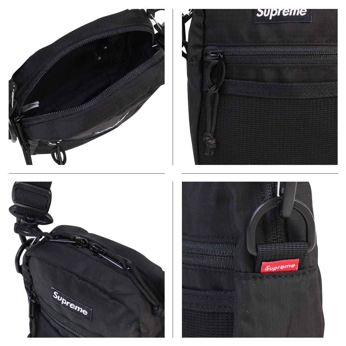 771691dc1c SS17 SUPREME SHOULDER BAG BLACK
