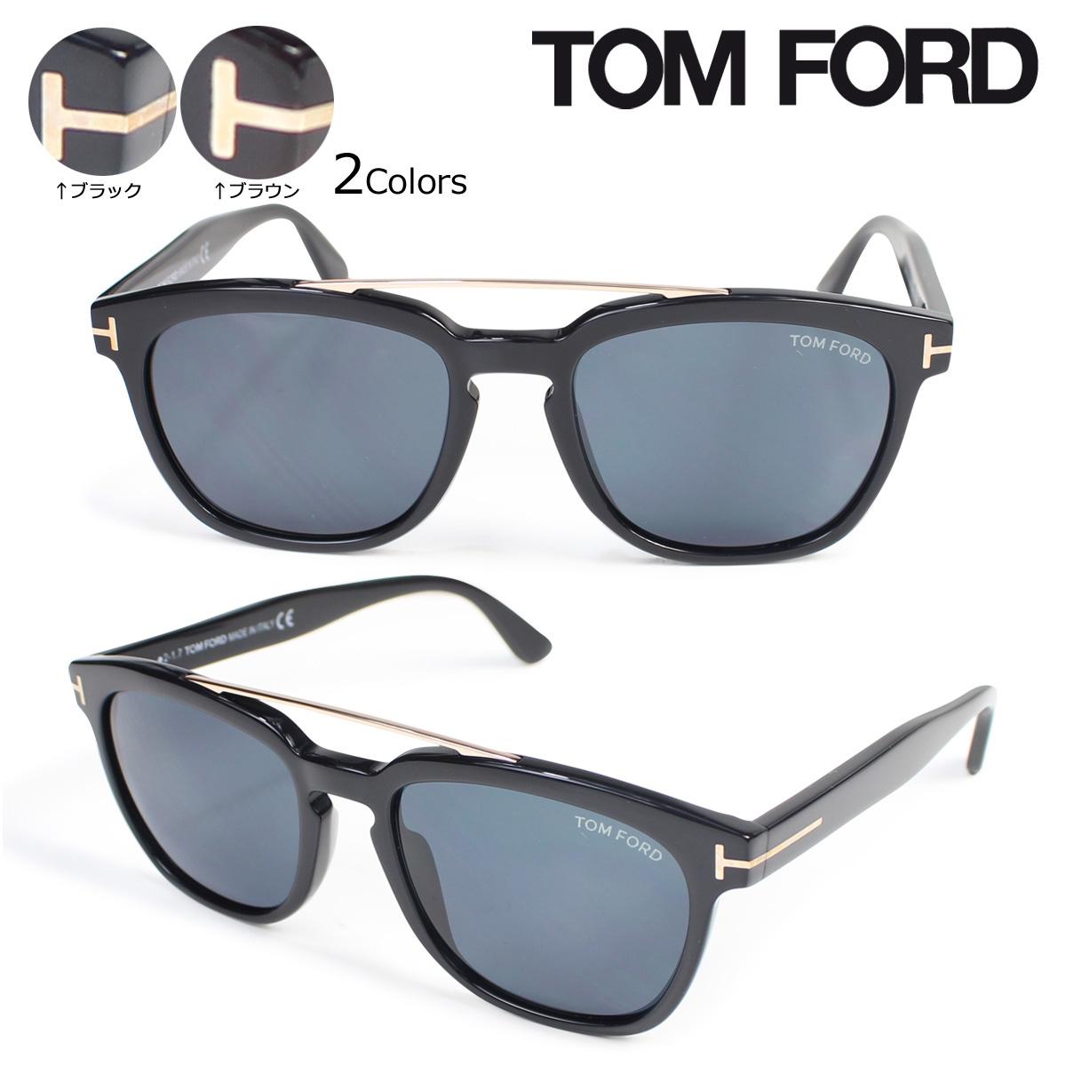 【最大2000円OFFクーポン】 トムフォード TOM FORD サングラス メガネ メンズ レディース アイウェア FT0516 HOLT SUNGLASSES 2カラー
