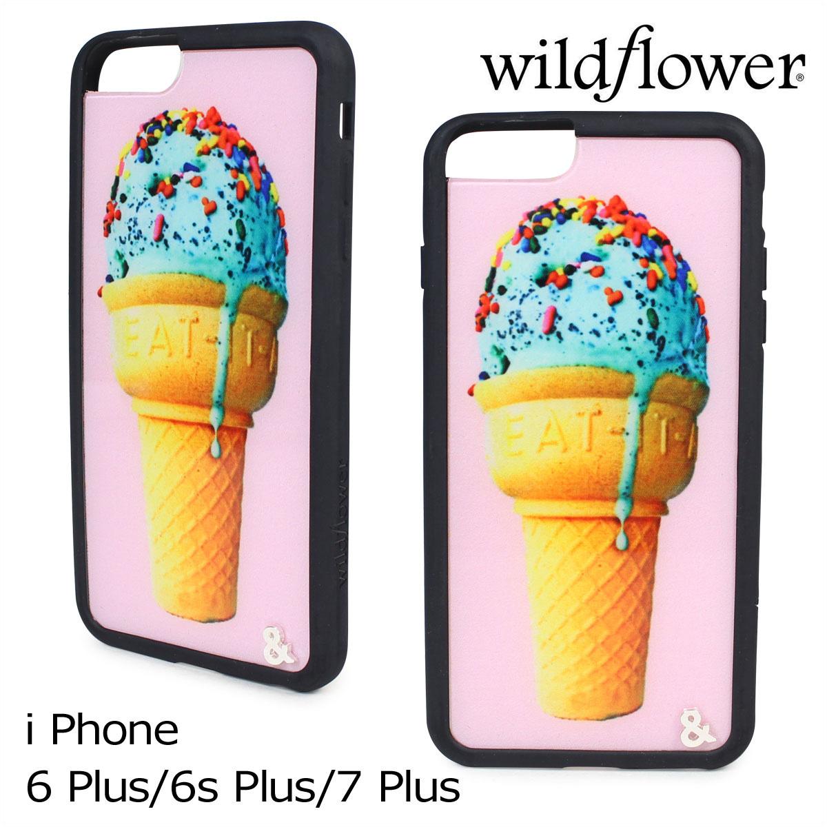 wildflower ワイルドフラワー iPhone 8 7 6 6s Plus ケース スマホ 携帯 アイフォン レディース マルチカラー JMIN 【ネコポス可】