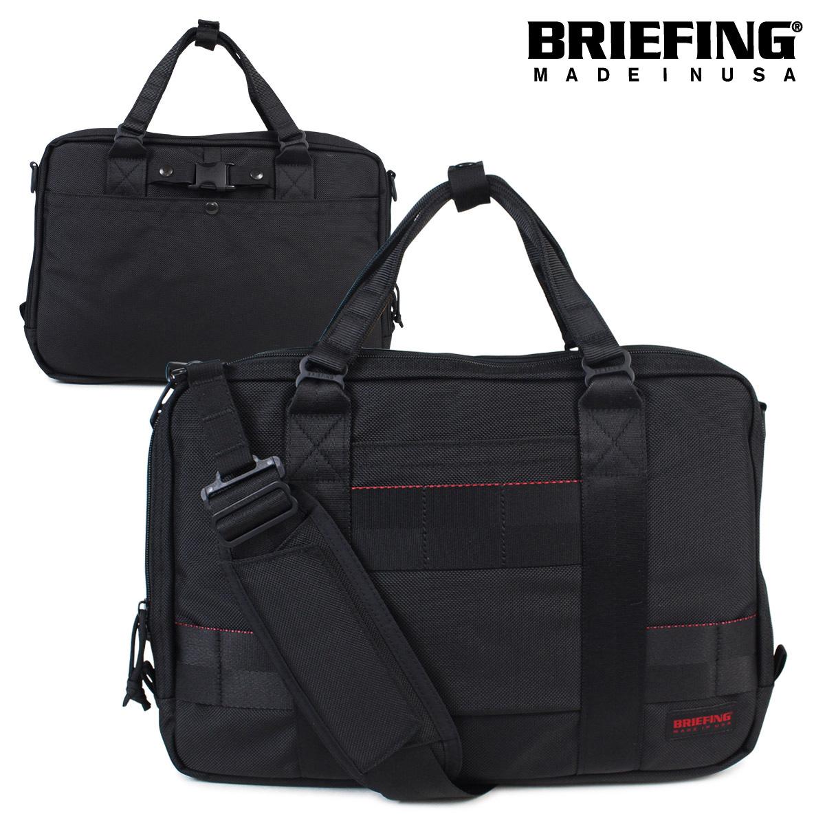 【最大2000円OFFクーポン】 ブリーフィング BRIEFING バッグ 3way ブリーフケース リュック ビジネスバッグ メンズ SSL LINER A4 ブラック BRF489219 [3/11 再入荷]