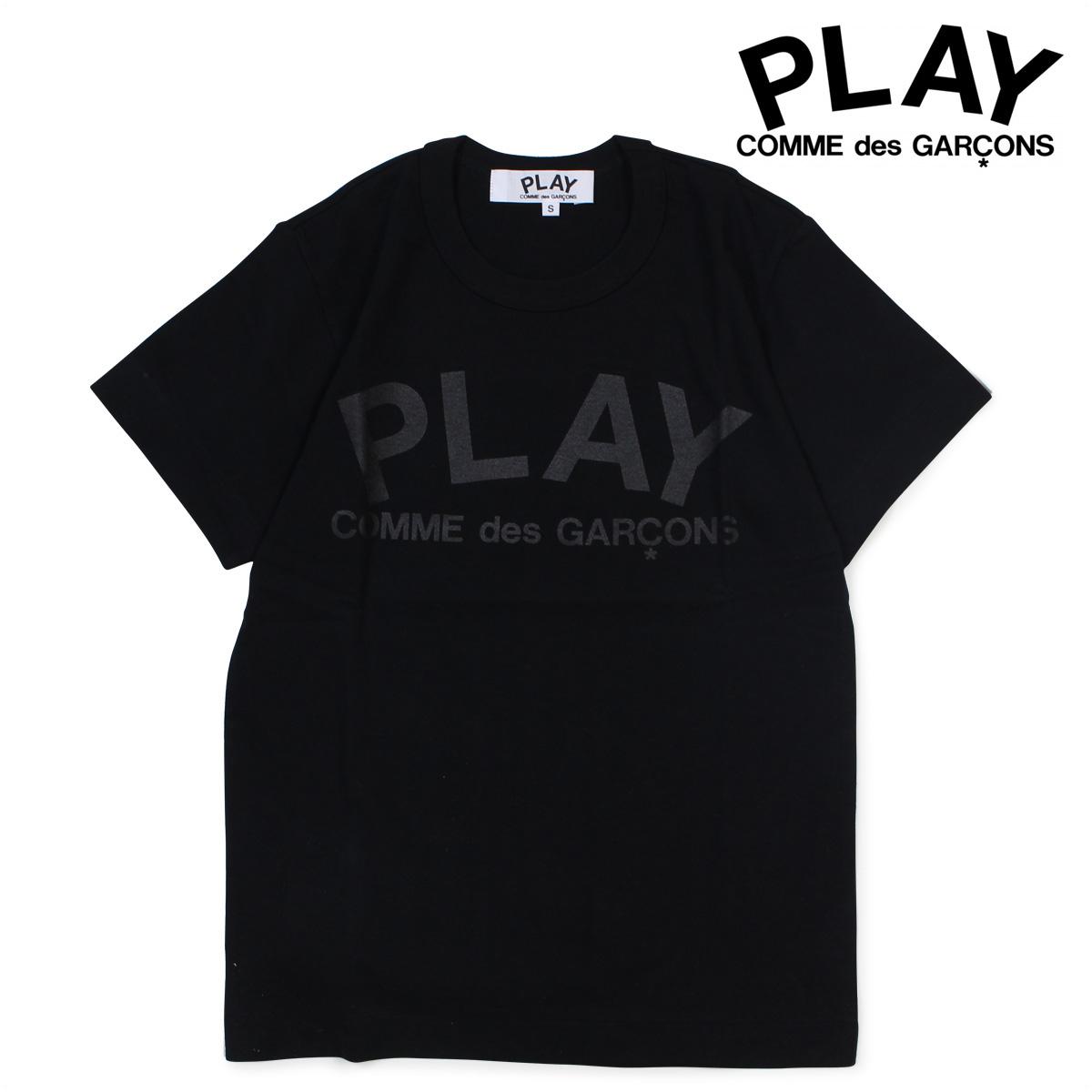 【最大2000円OFFクーポン】 コムデギャルソン COMME des GARCONS PLAY Tシャツ レディース 半袖 PLAY T-SHIRT ブラック AZ-T187