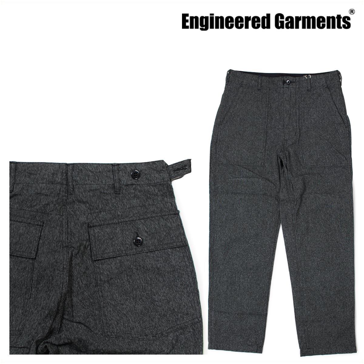 エンジニアド ガーメンツ ENGINEERED GARMENTS パンツ メンズ ファティーグパンツ FATIGUE PANT F7F0659 グレー