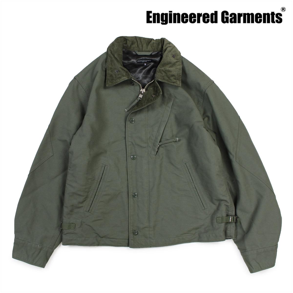 エンジニアードガーメンツ ENGINEERED GARMENTS ジャケット メンズ デッキジャケット NA2 JACKET F7D0856 カーキー 【決算セール 返品不可】