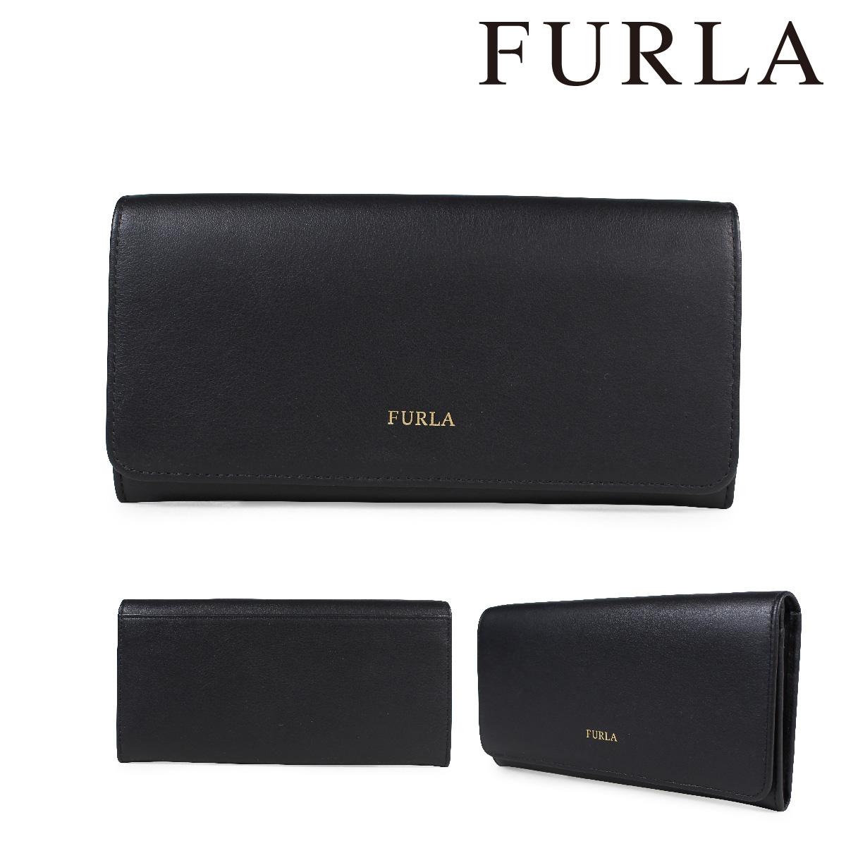 フルラ FURLA 財布 長財布 レディース レザー ブラック WALLET 860843