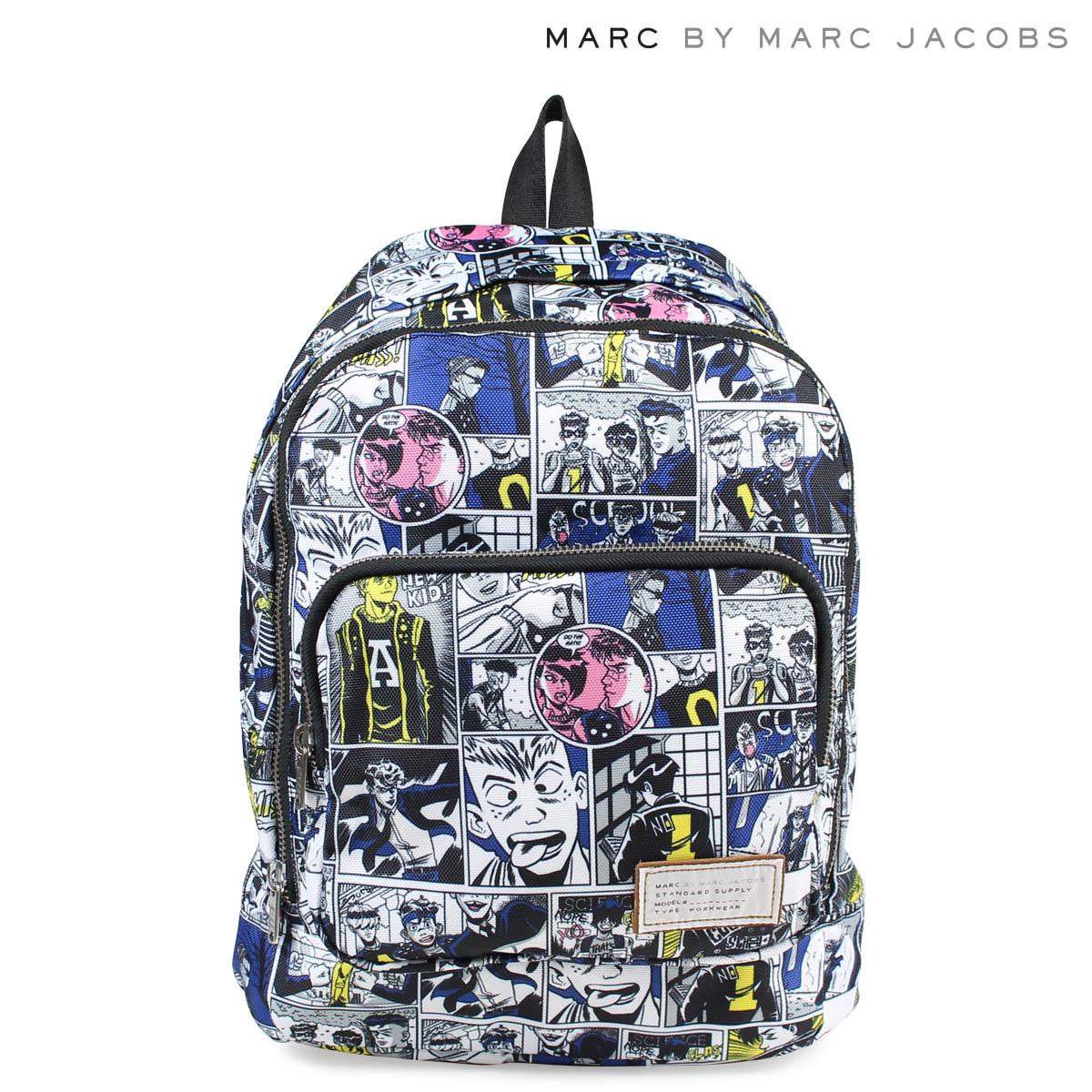 マークバイマークジェイコブス MARC BY MARC JACOBS バッグ リュック レディース バックパック M0006405 CARTOON BACKPACK ホワイト 【決算セール 返品不可】
