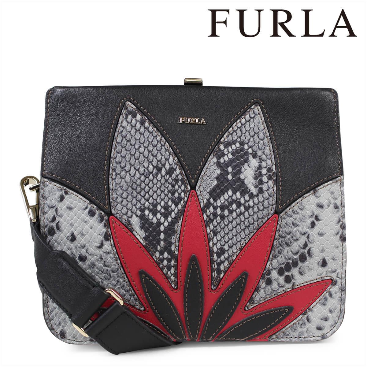 フルラ FURLA バッグ ショルダー レディース ブラック SELFIE SHOULDER BAG 904296
