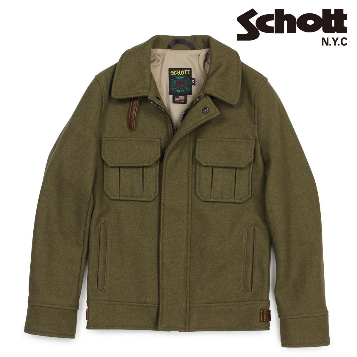 【最大2000円OFFクーポン】 ショット Schott ジャケット M65 フィールドジャケット メンズ WOOL BLEND EISENHOWER FIELD JACKET 720