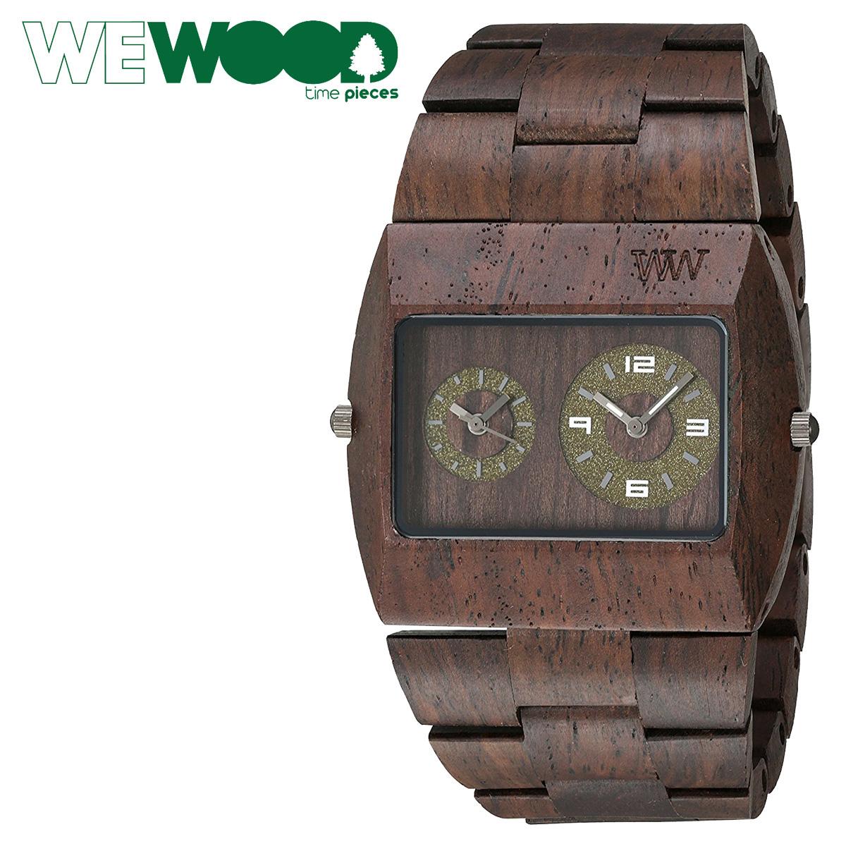 WEWOOD 腕時計 ウィーウッド メンズ レディース JUPITER RS CHOCOLATE WJRSCH ブラウン