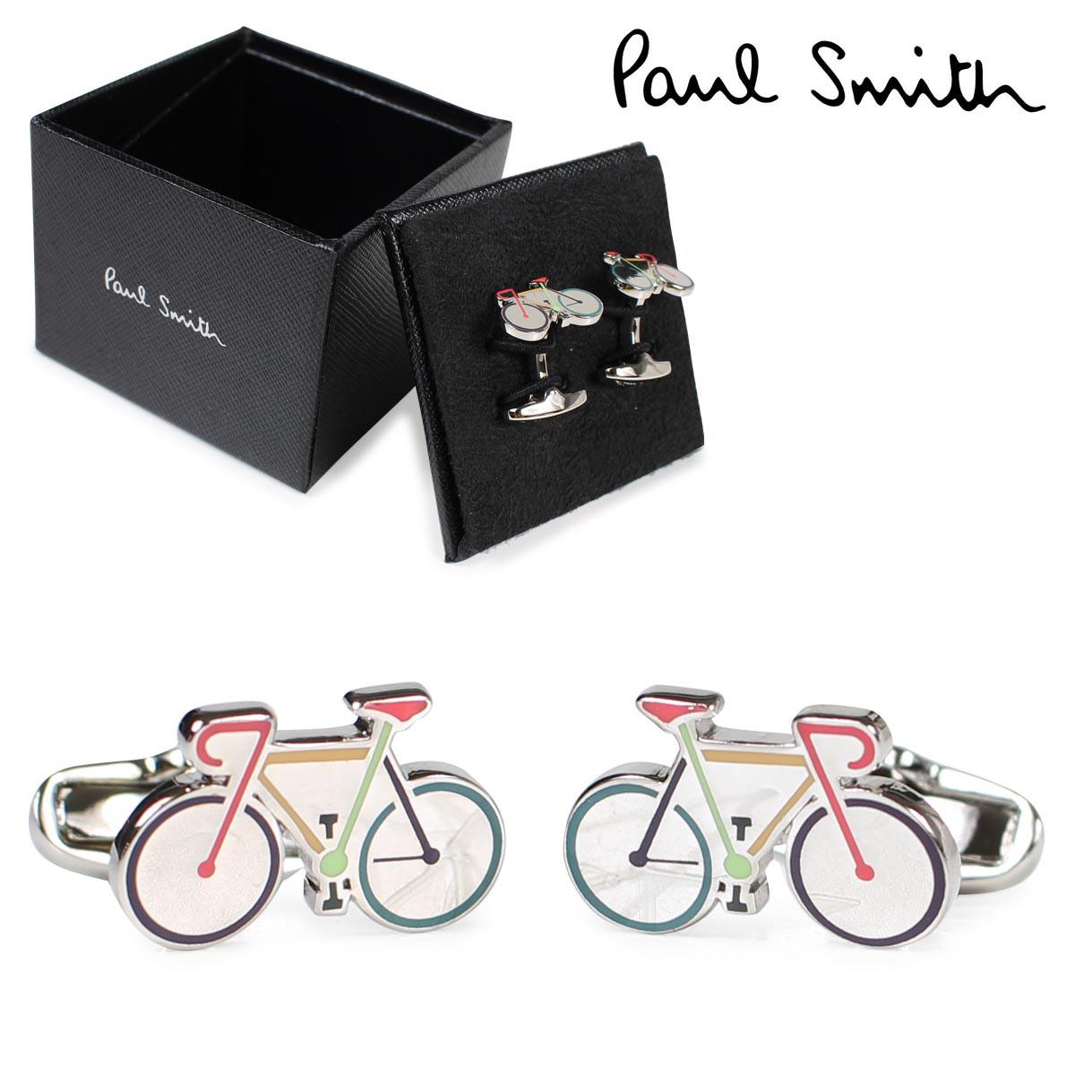 【最大2000円OFFクーポン】 ポールスミス Paul Smith カフス カフスボタン メンズ CUFF LINKS シルバー 結婚式