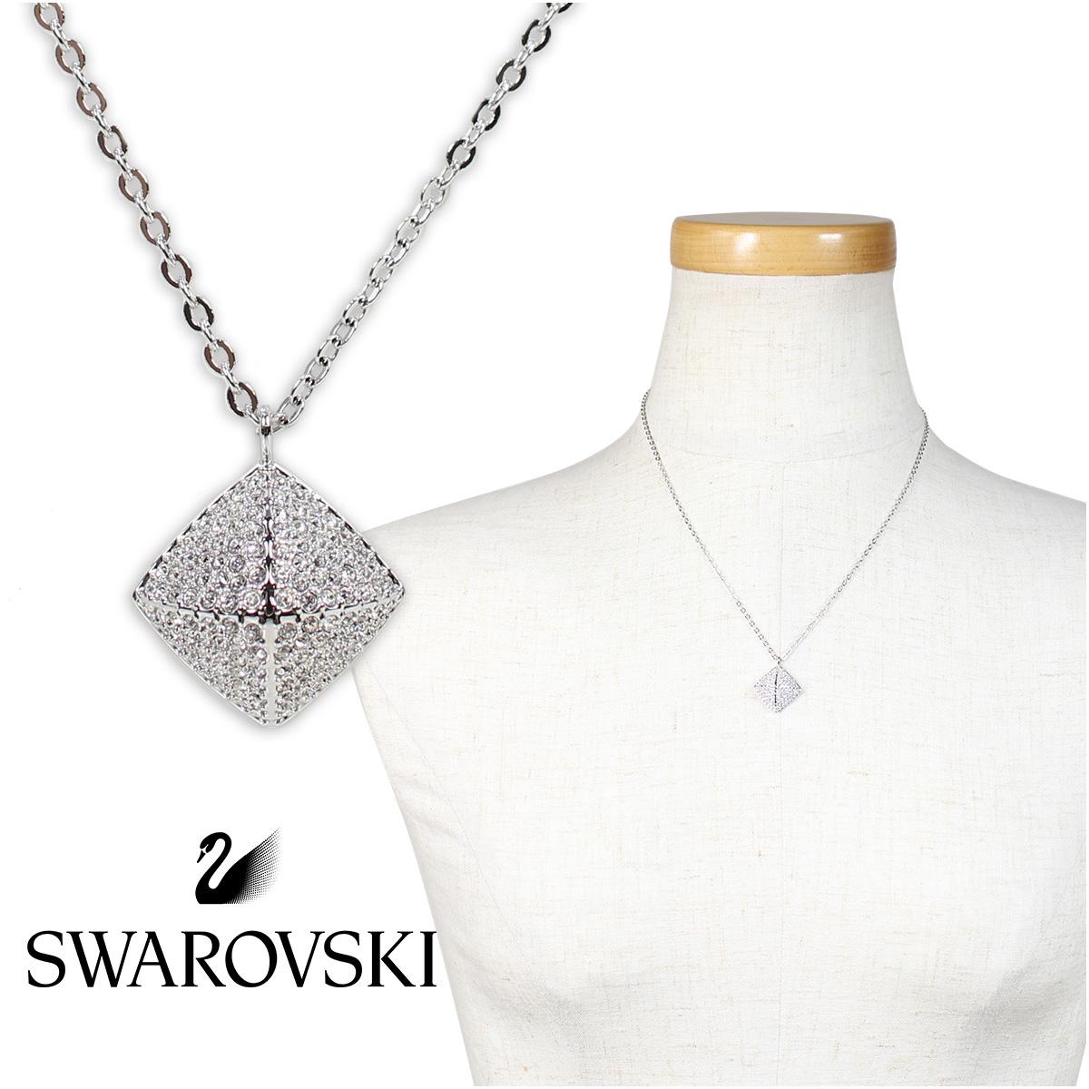 スワロフスキー SWAROVSKI ネックレス レディース TACTIC シルバー 5017069