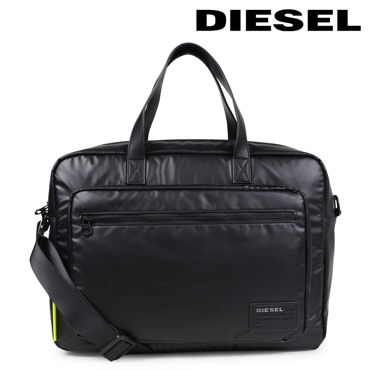 【最大2000円OFFクーポン】 ディーゼル DIESEL バッグ メンズ ブリーフケース DISCOVER-UZ F-DISCOVER BRIEFCASE X05185 P1157 T8013 ブラック